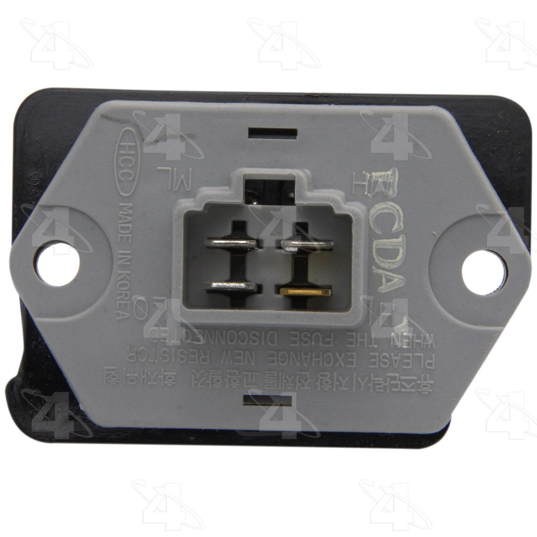 hight resolution of 2001 hyundai xg300 hvac blower motor resistor fs 20278