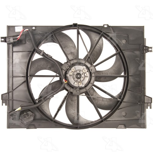 small resolution of 2007 hyundai tucson engine cooling fan assembly fs 75637