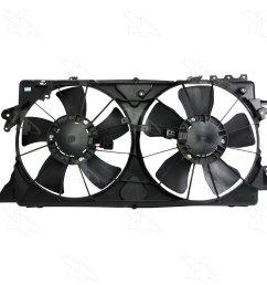 2009 nissan versa engine cooling fan assembly fs 76201 [ 1500 x 1500 Pixel ]
