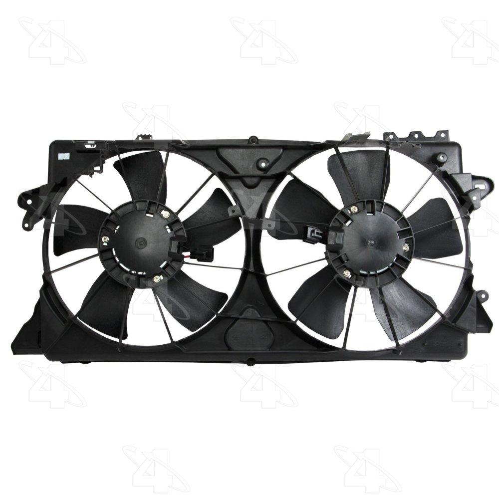 medium resolution of  2009 nissan versa engine cooling fan assembly fs 76201