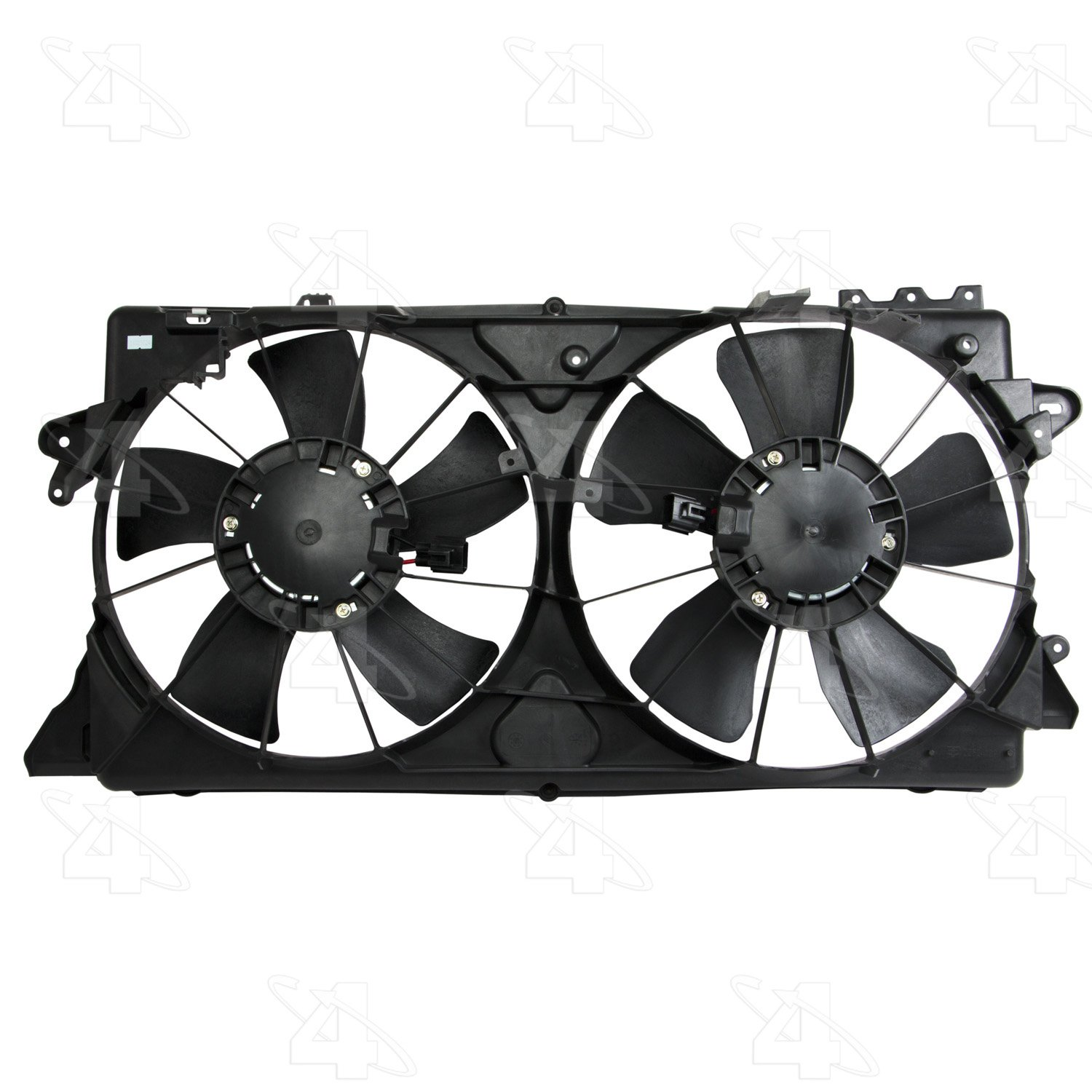 hight resolution of  2009 nissan versa engine cooling fan assembly fs 76201