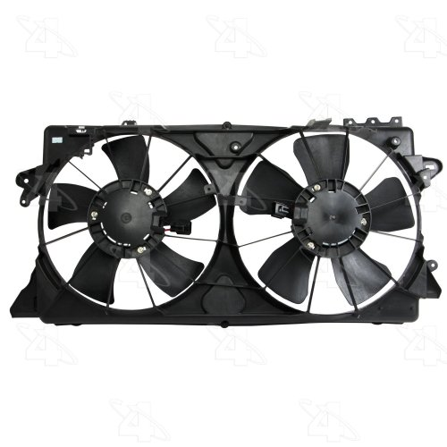 small resolution of  2009 nissan versa engine cooling fan assembly fs 76201