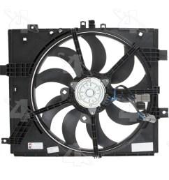 2012 nissan versa engine cooling fan assembly fs 76278 [ 1500 x 1500 Pixel ]