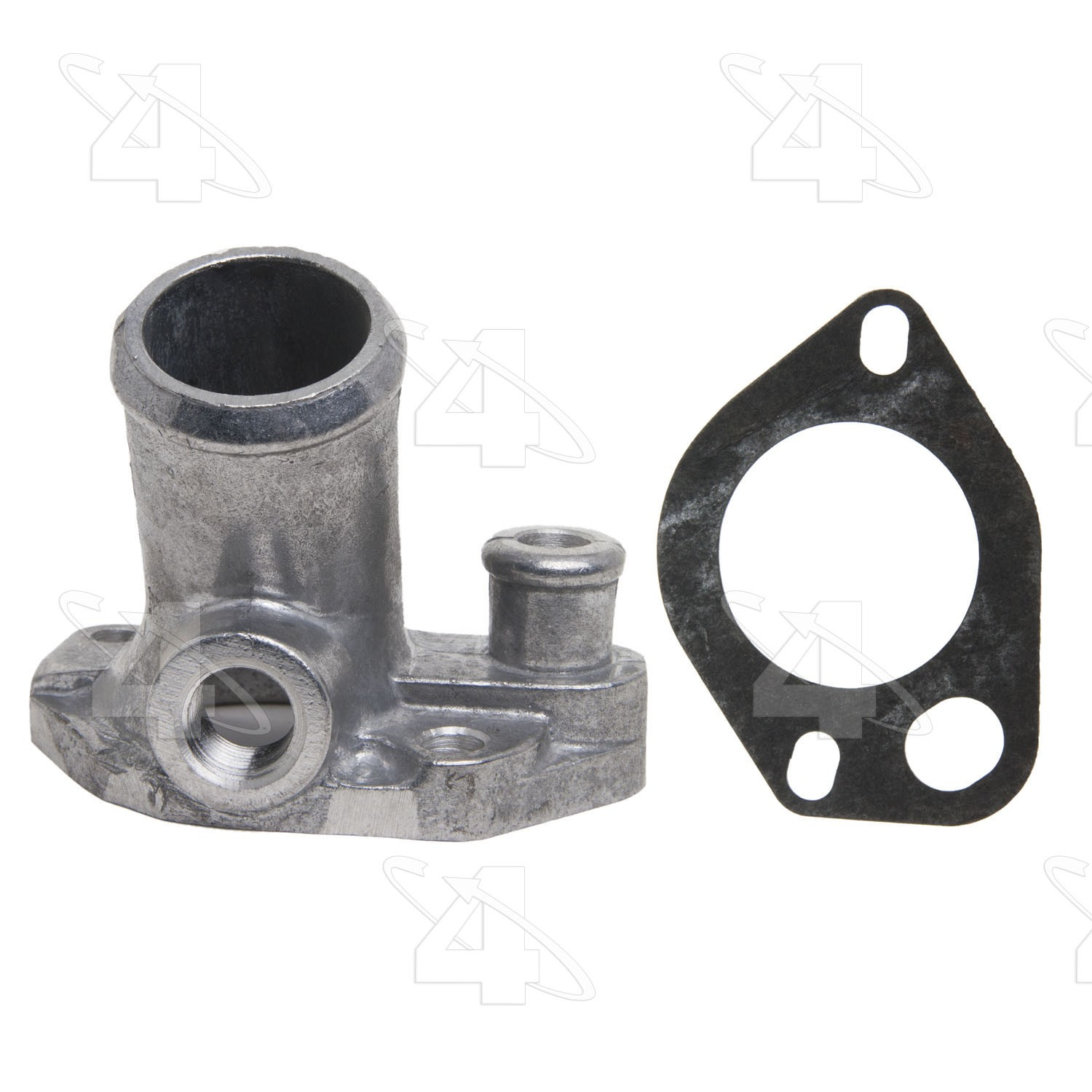 hight resolution of 1996 ford f 250 engine coolant water outlet fs 84831