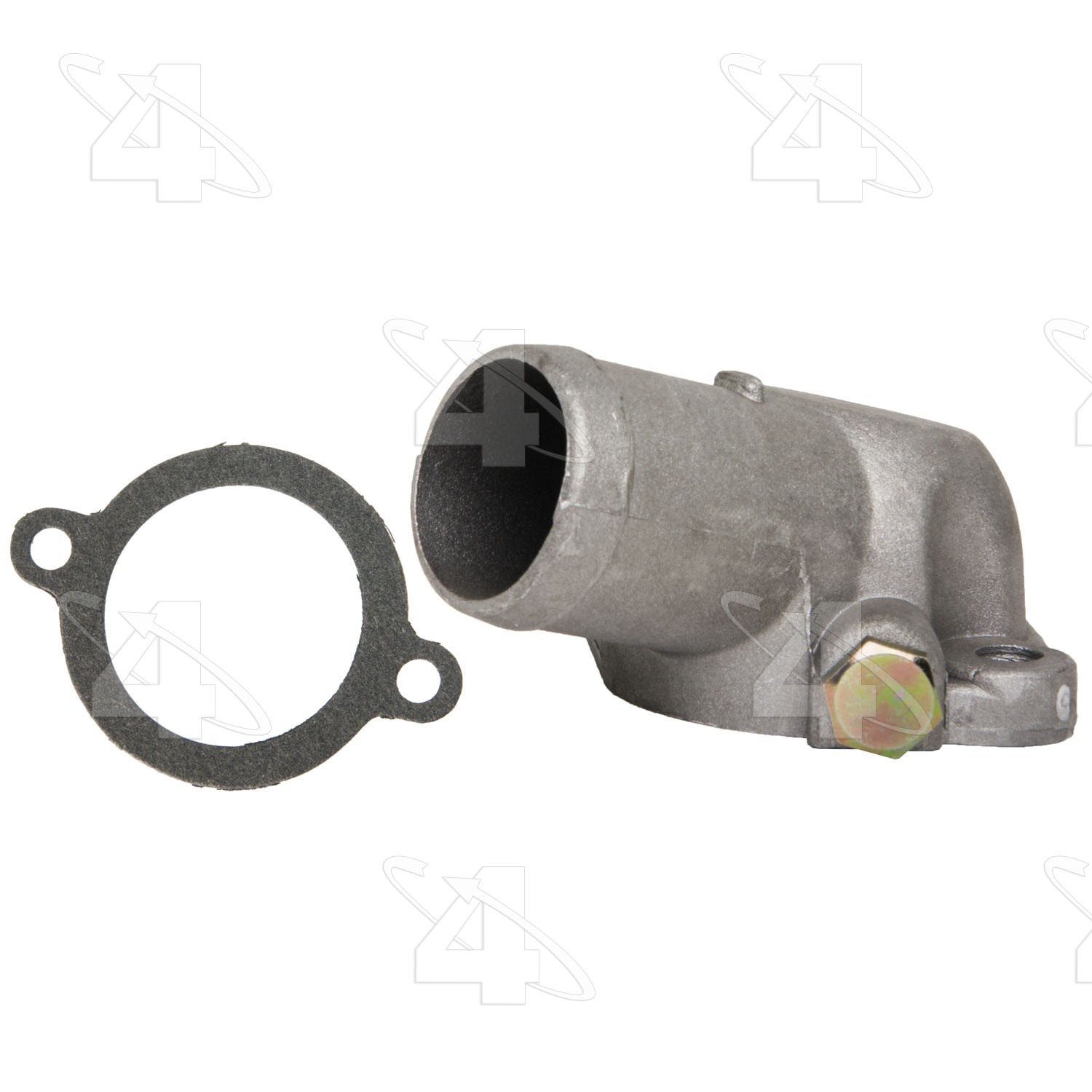 hight resolution of 1991 mitsubishi mighty max engine coolant water outlet fs 85100