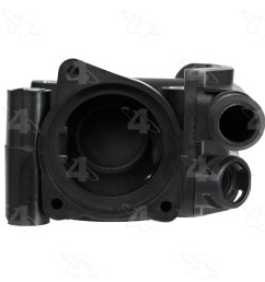 2000 ford contour engine coolant thermostat housing fs 85693  [ 1500 x 1500 Pixel ]