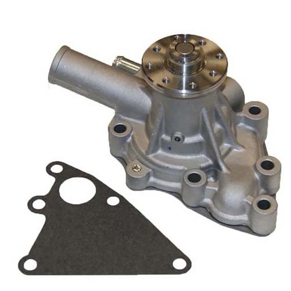 medium resolution of 1987 isuzu trooper engine water pump g6 140 1200