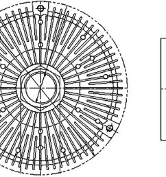 1999 mercedes benz ml320 engine cooling fan clutch hl 376731491 [ 2048 x 1352 Pixel ]