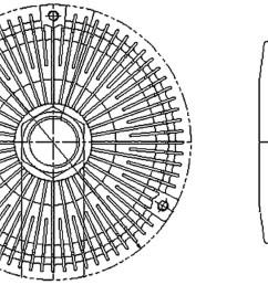 1995 mercedes benz c220 engine cooling fan clutch hl 376733011 [ 2048 x 1318 Pixel ]