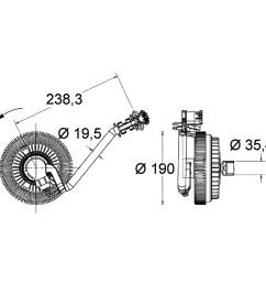 2006 gmc envoy engine cooling fan clutch hl 376734021 [ 1536 x 1536 Pixel ]