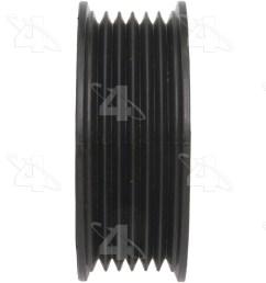 2000 chevrolet tahoe drive belt idler pulley fs 45996 [ 1500 x 1500 Pixel ]