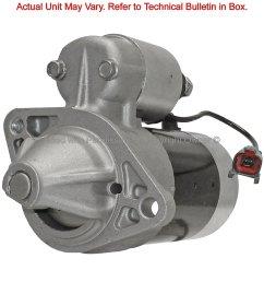 1993 nissan sentra starter motor ma 12135 [ 1500 x 1500 Pixel ]