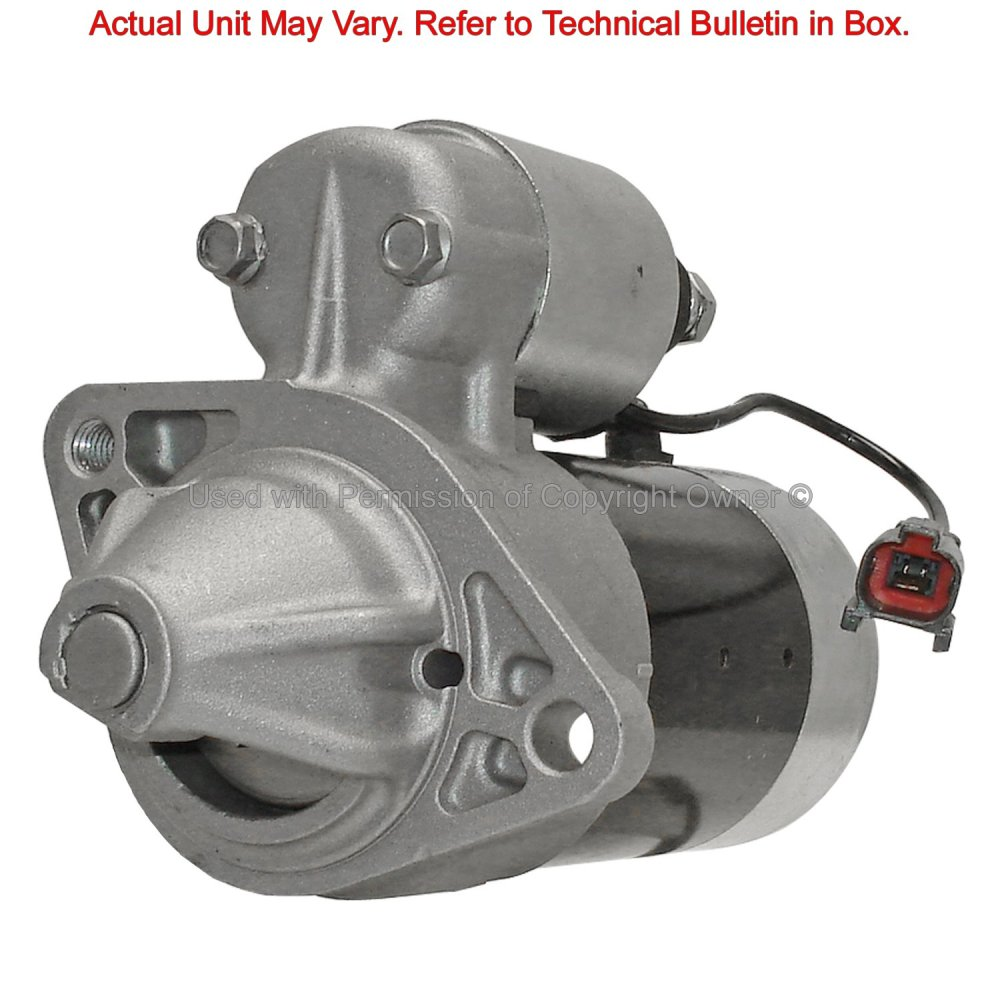 medium resolution of 1993 nissan sentra starter motor ma 12135