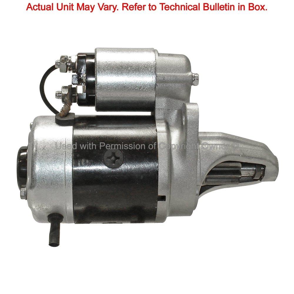 medium resolution of  1993 nissan sentra starter motor ma 12137