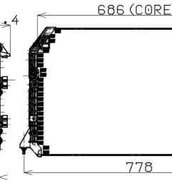 1995 lexus es300 a c condenser np 477 0507 [ 1440 x 683 Pixel ]