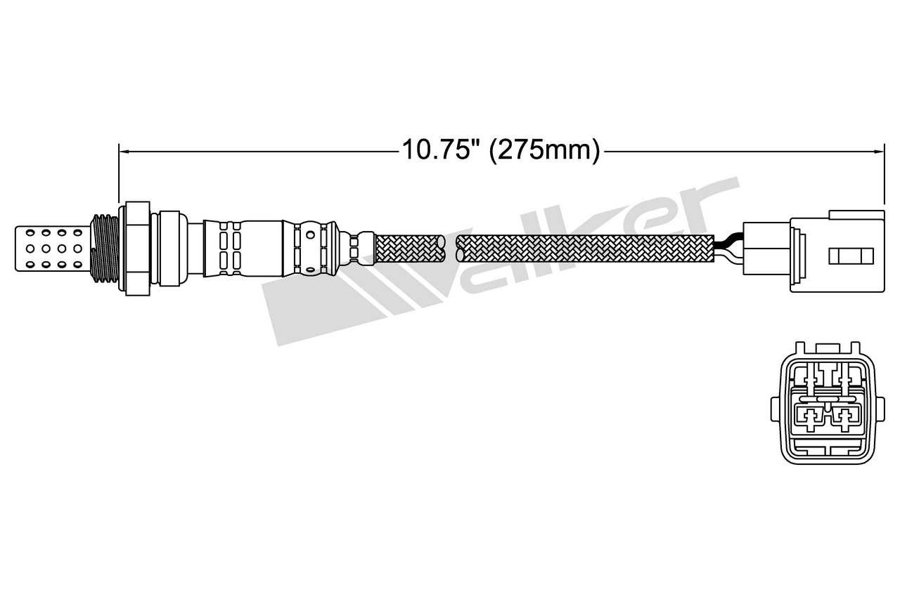 hight resolution of 2009 lexus sc430 oxygen sensor o2 250 24169