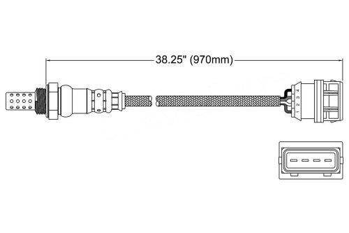 small resolution of 2002 volvo v40 oxygen sensor o2 250 24428