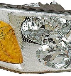 2006 gmc envoy headlight assembly rb 1590145 [ 1500 x 974 Pixel ]