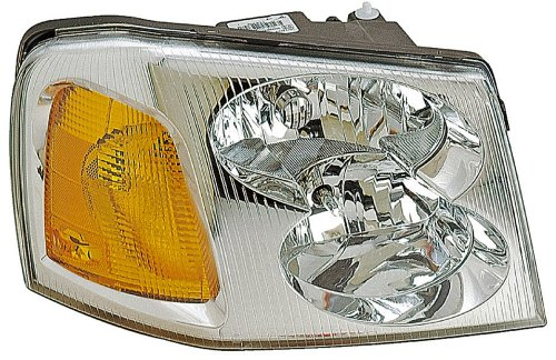 small resolution of 2006 gmc envoy headlight assembly rb 1590145