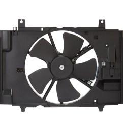 2009 nissan versa engine cooling fan assembly sq cf23028 [ 900 x 900 Pixel ]