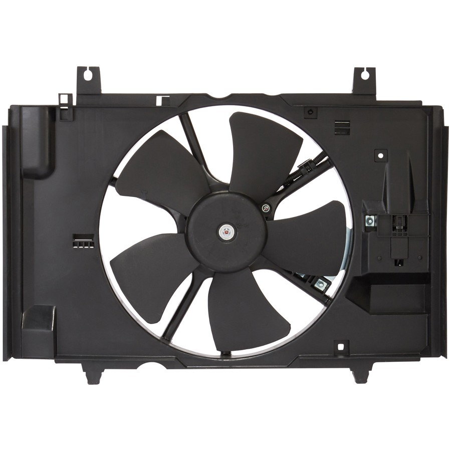 medium resolution of 2009 nissan versa engine cooling fan assembly sq cf23028