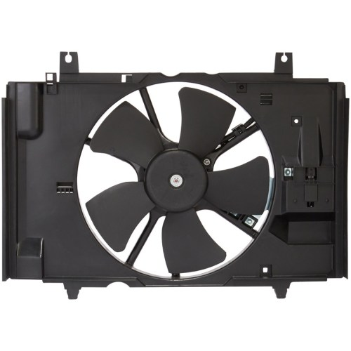 small resolution of 2009 nissan versa engine cooling fan assembly sq cf23028
