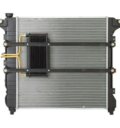 1999 dodge durango radiator sq cu2186 [ 900 x 900 Pixel ]