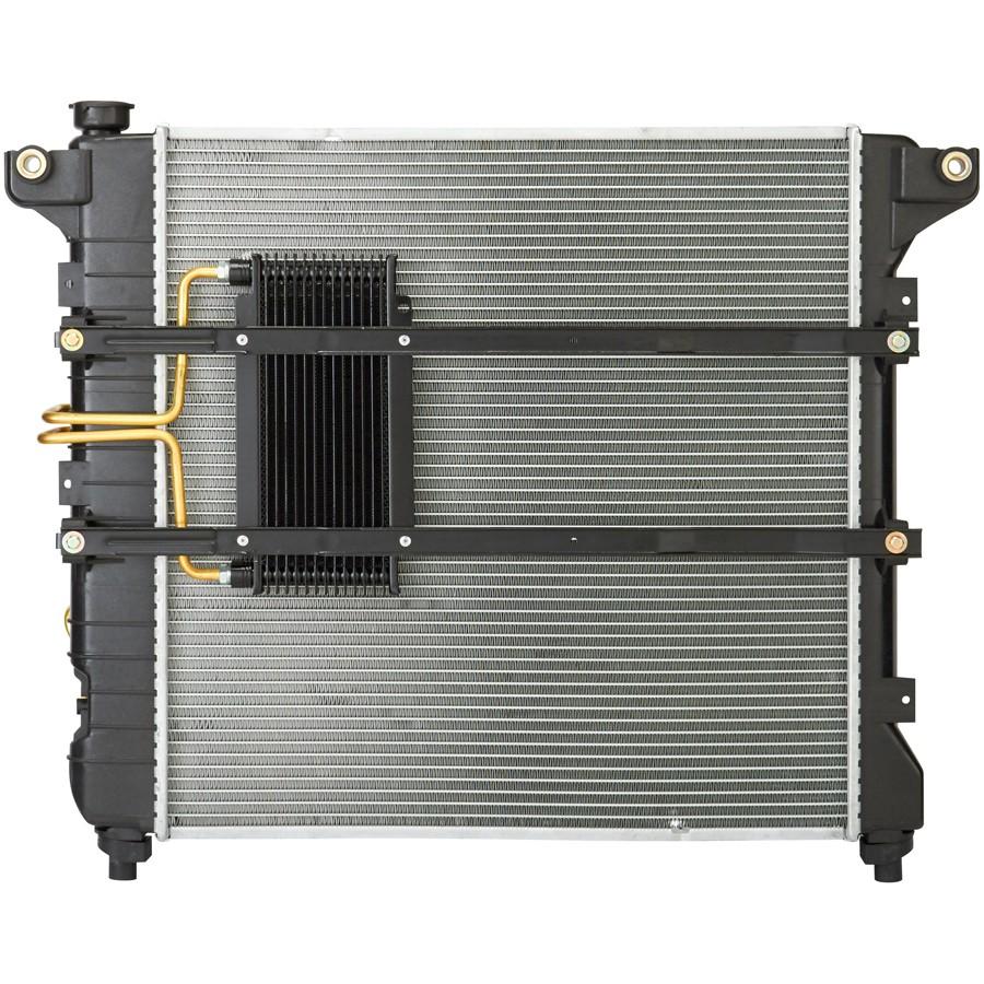 medium resolution of 1999 dodge durango radiator sq cu2186