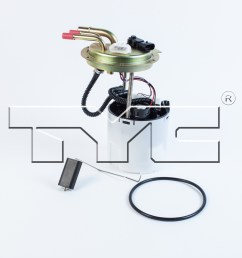 2007 chevrolet avalanche fuel pump module assembly ty 150204 [ 1500 x 1500 Pixel ]