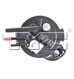 2007 pontiac grand prix fuel pump module assembly ty 150235  [ 1500 x 1500 Pixel ]