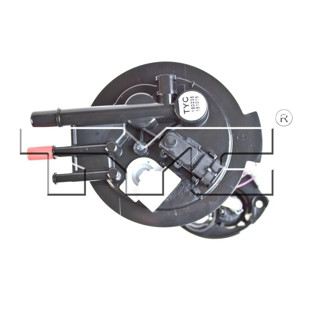 medium resolution of 2007 pontiac grand prix fuel pump module assembly ty 150235