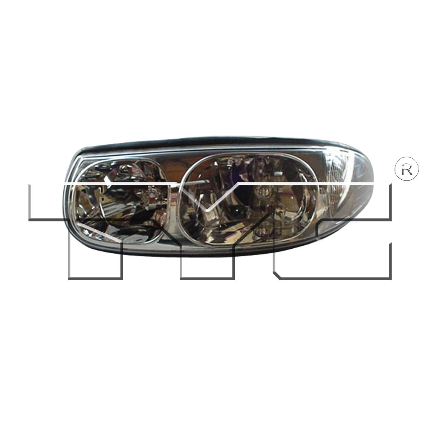 hight resolution of 2003 buick lesabre headlight assembly ty 20 5874 90 1