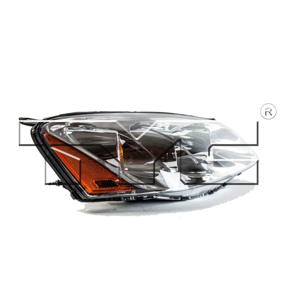 medium resolution of 2005 pontiac g6 headlight assembly ty 20 6677 00 1
