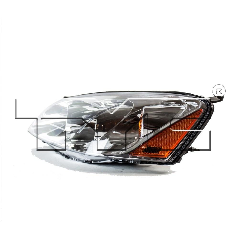 medium resolution of 2005 pontiac g6 headlight assembly ty 20 6678 00 1