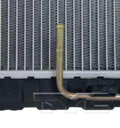 2005 kia amanti radiator ty 2790 [ 1500 x 1500 Pixel ]