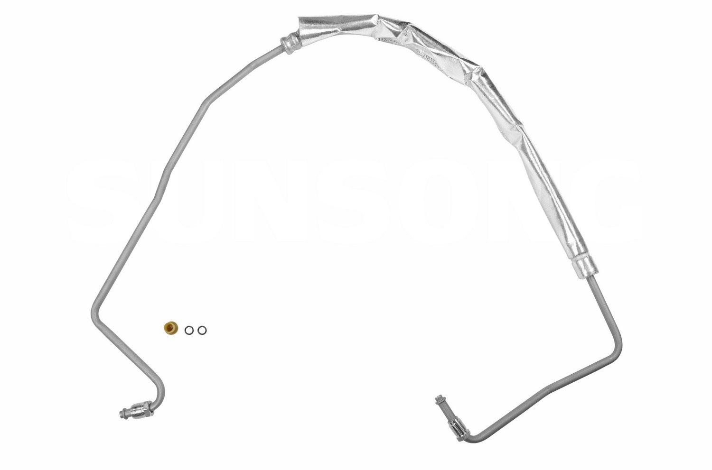 Pontiac Grand Prix Steering Pressure Line Hose