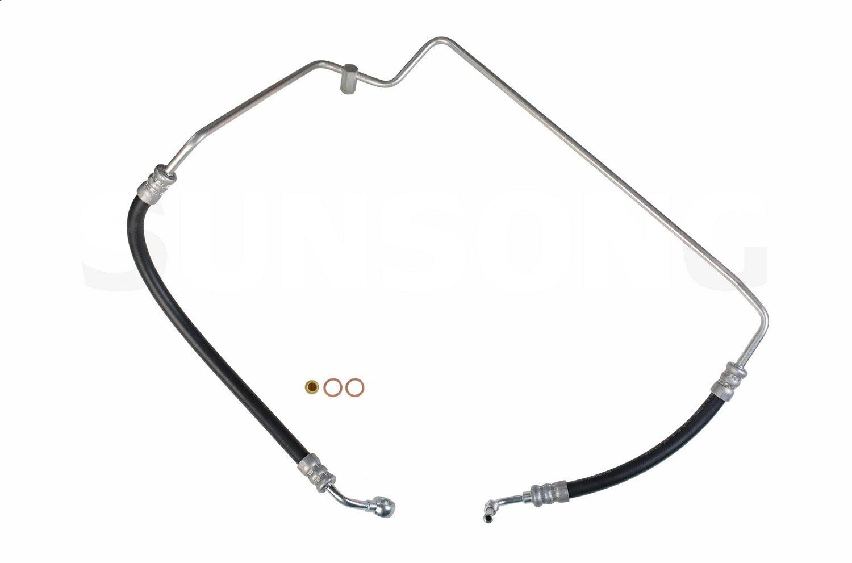 Nissan D21 Steering Pressure Line Hose Assembly