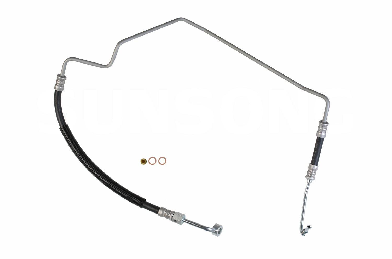 Nissan Frontier Steering Pressure Line Hose Assembly