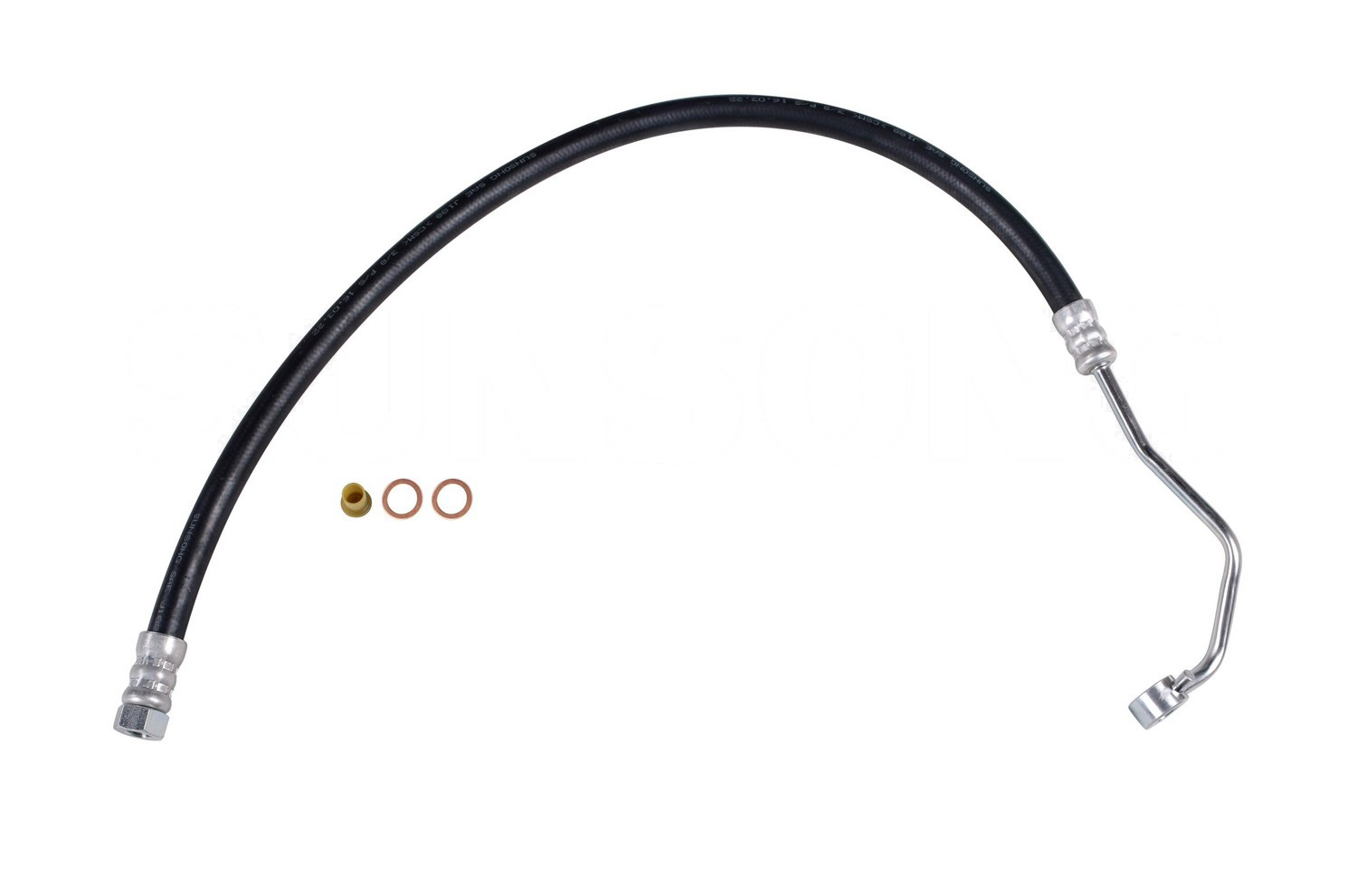 2006 Hyundai Accent Steering Pressure Line Hose Assembly