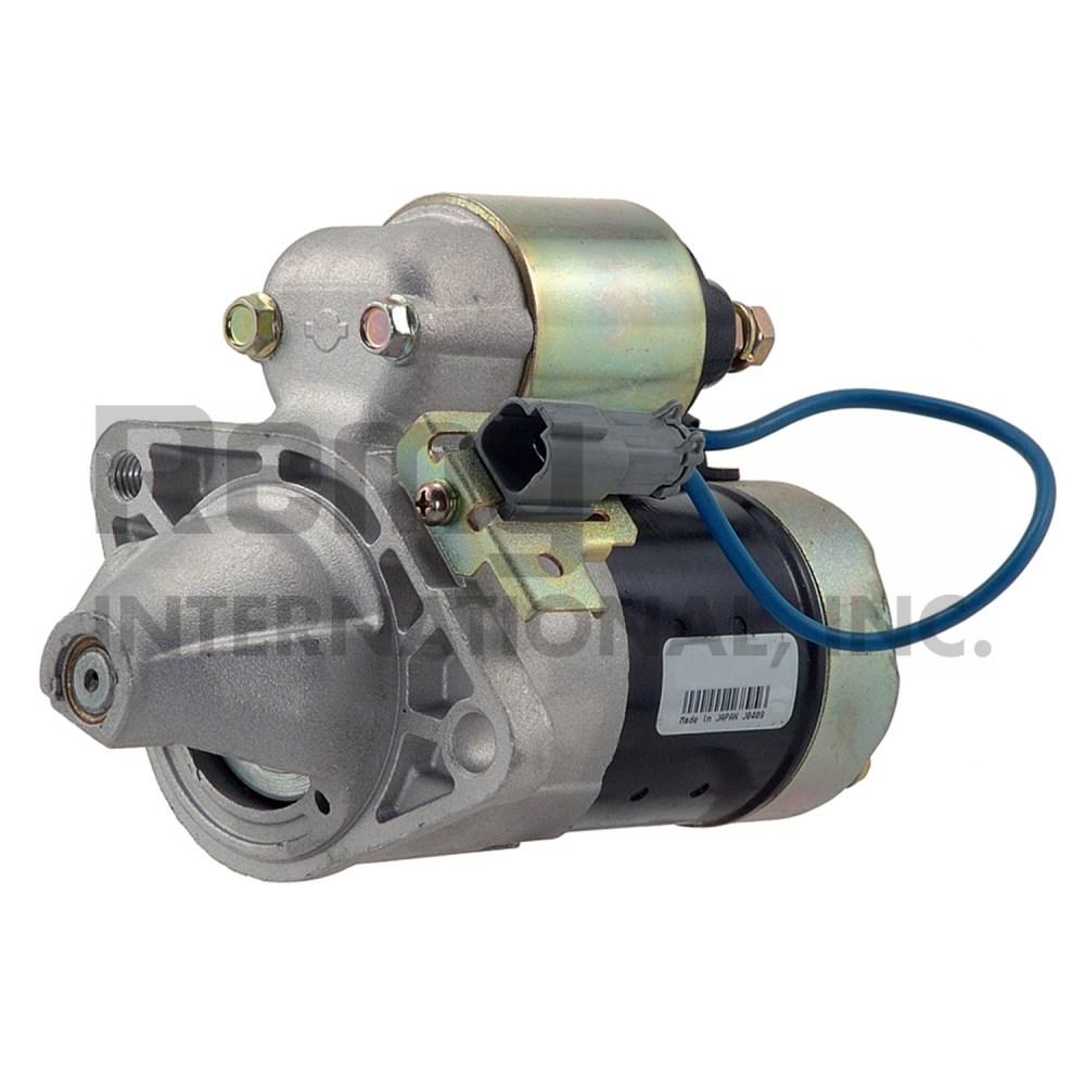 medium resolution of 1997 nissan sentra starter motor wd 16895
