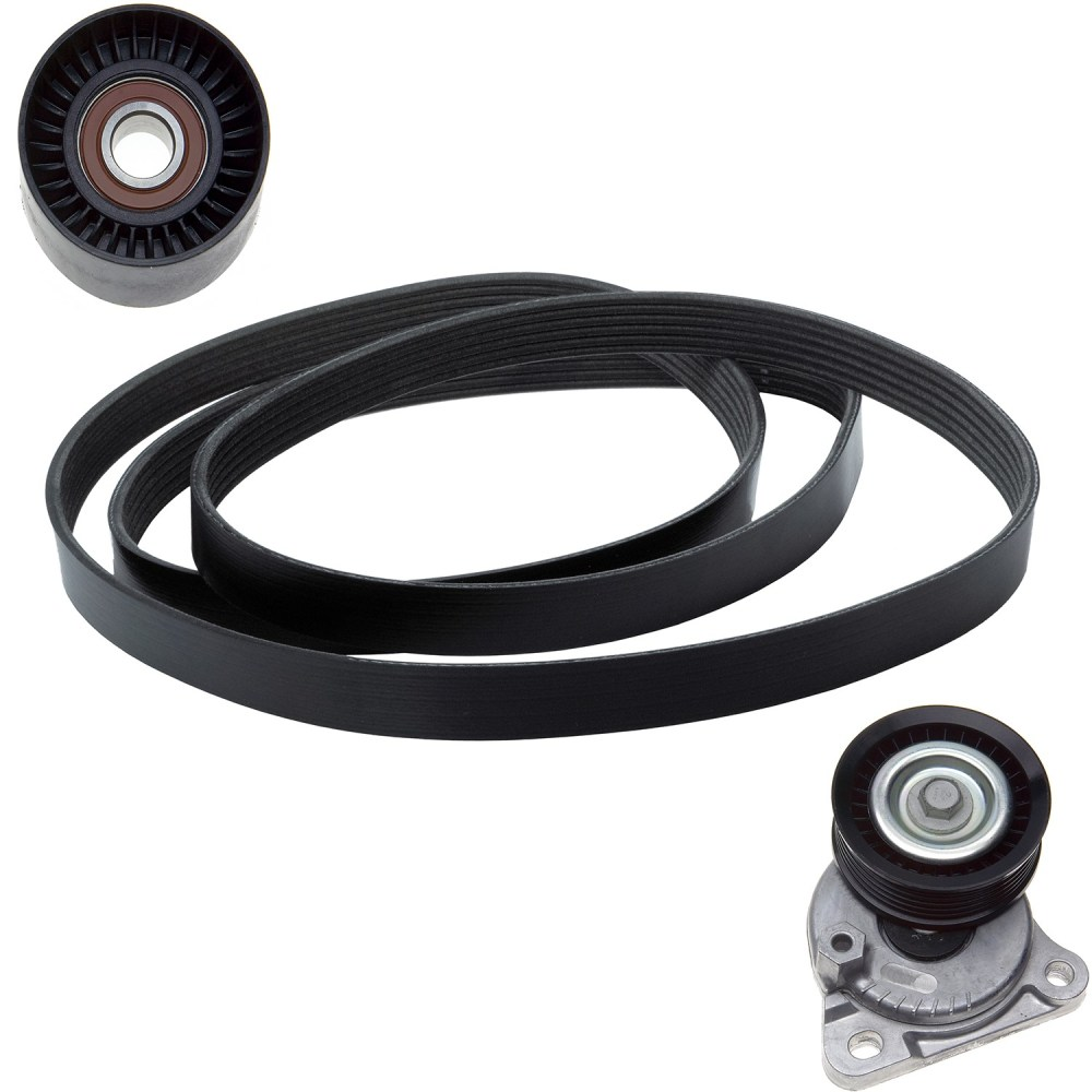 medium resolution of 2010 ford focus serpentine belt drive component kit zo ack060874
