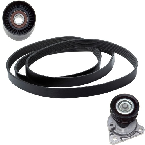 small resolution of 2010 ford focus serpentine belt drive component kit zo ack060874