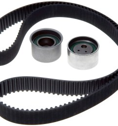 2005 mitsubishi galant engine timing belt component kit zo tck287 [ 1500 x 1260 Pixel ]