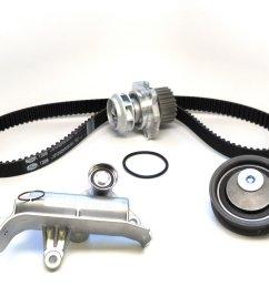 2000 volkswagen passat engine timing belt kit with water pump zo tckwp306m [ 2048 x 1536 Pixel ]