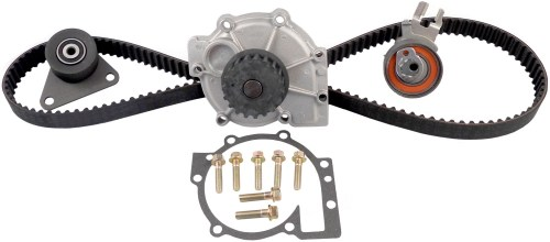 small resolution of 2005 volvo s60 engine timing belt kit with water pump zo tckwp331a