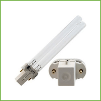 The UV Lamp 9 Watt are PL style lamp with G23 base