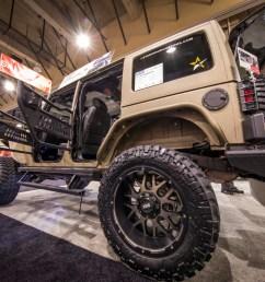 custom desert jeep wrangler jk unlimited with aries jeep doors  [ 1250 x 833 Pixel ]