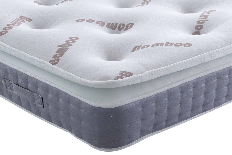 joseph bamboo pocket series 3000 memory foam pillow top mattress