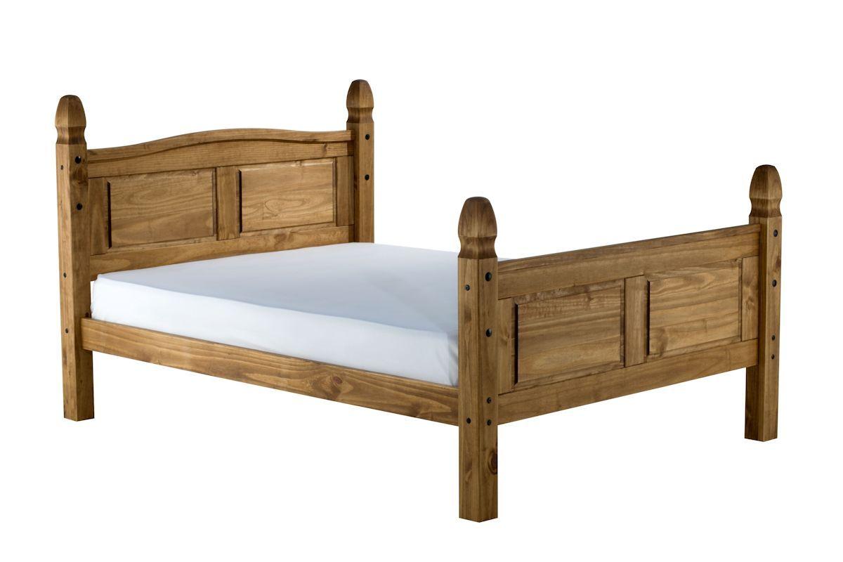 Birlea Corona High End Pine Wooden Bed Frame Bedworld