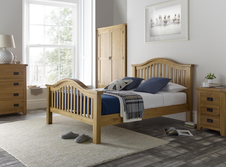 minnesota wooden high end bed frame